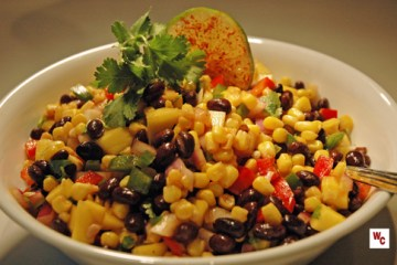 black bean corn 3 wc