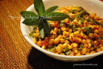spicy chickpea salad 3