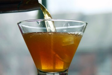 gingersnap martini