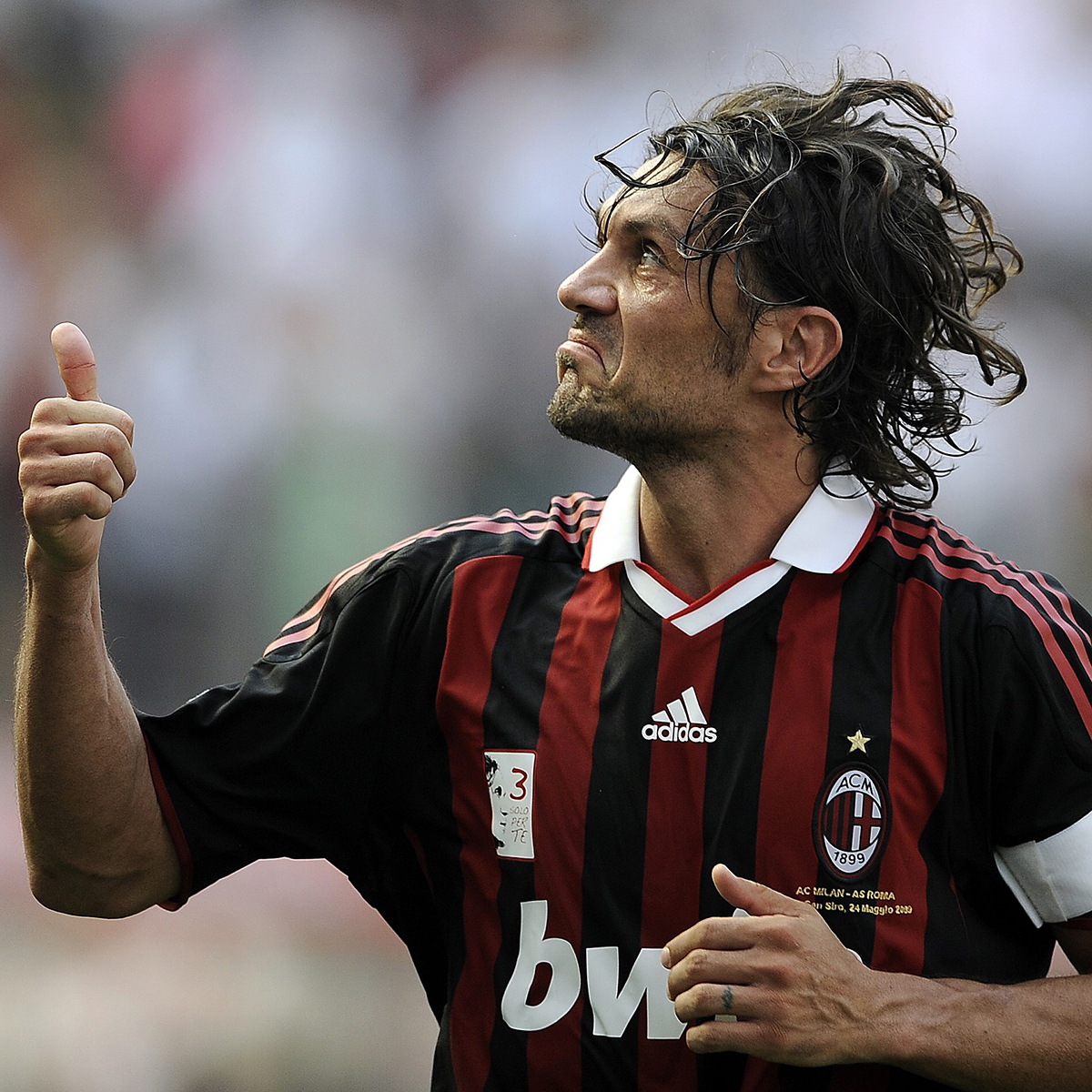 Fan Hd Wallpaper San Siro Send Off Turns Sour For Capitano Maldini James