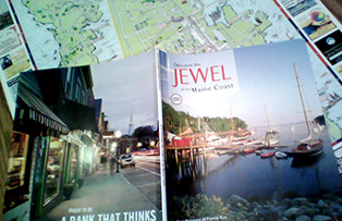 The Jewel of the Maine Coast and the Discovery Map for Rockland, Maine