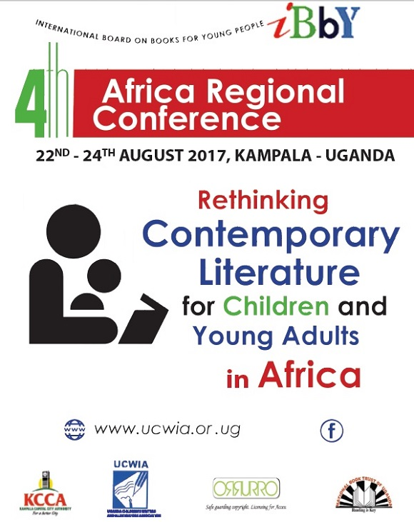 The IBBY Africa Region Conference set for Kampala in August 2017