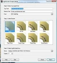 LightScribe Simple Labeler