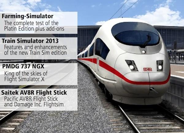 Simulator World Magazine Released (English) – Train Simulator 2013 First Impressions