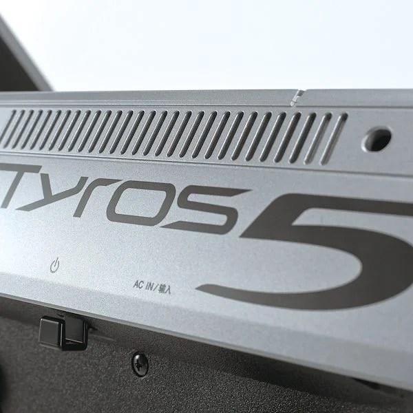 Yamaha Tyros 5 Keyboard – Main Demonstration [IMAGES] [VIDEO]