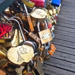 Locks At Lover's Bridge Paris