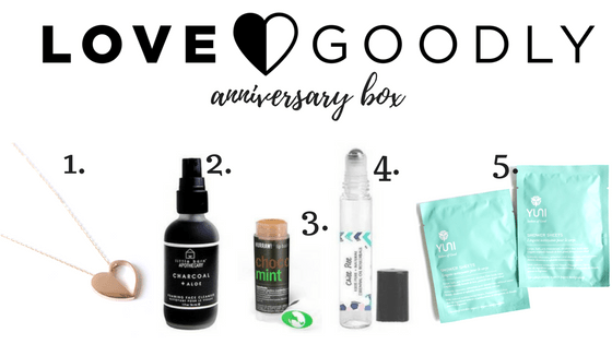 Love Goodly anniversary box
