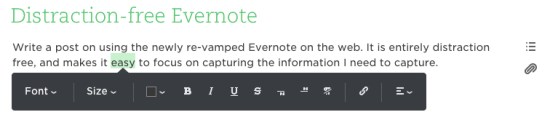 Evernote Format 2