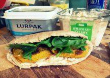 JamJarGill: Meatless Monday: wk43: Lunch: Pumpkin Falafel