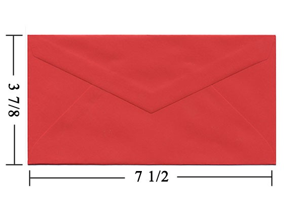 What Size is a Monarch Envelope and How to Use Them - JAM Blog