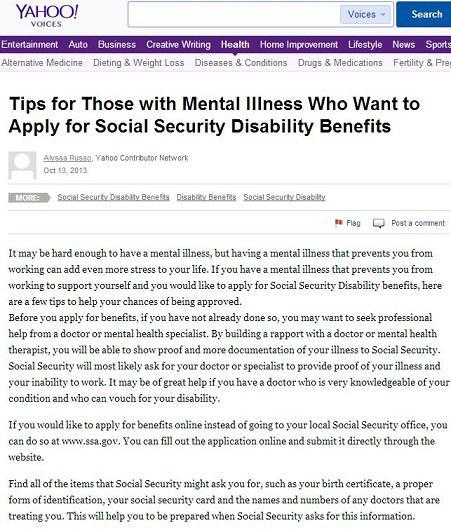 Social Security Disability Eligibility Ideas for Filing a Claim