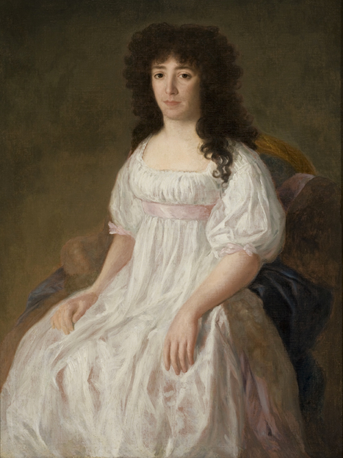 """""""Retrato da Condessa de Casa Flores"""", Francisco Goya y Lucientes, 1790/97"""