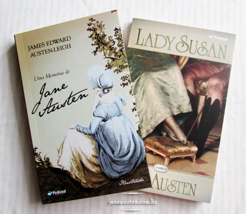 Uma memória de Jane Austen e Lady Susan - Editora Pedrazul