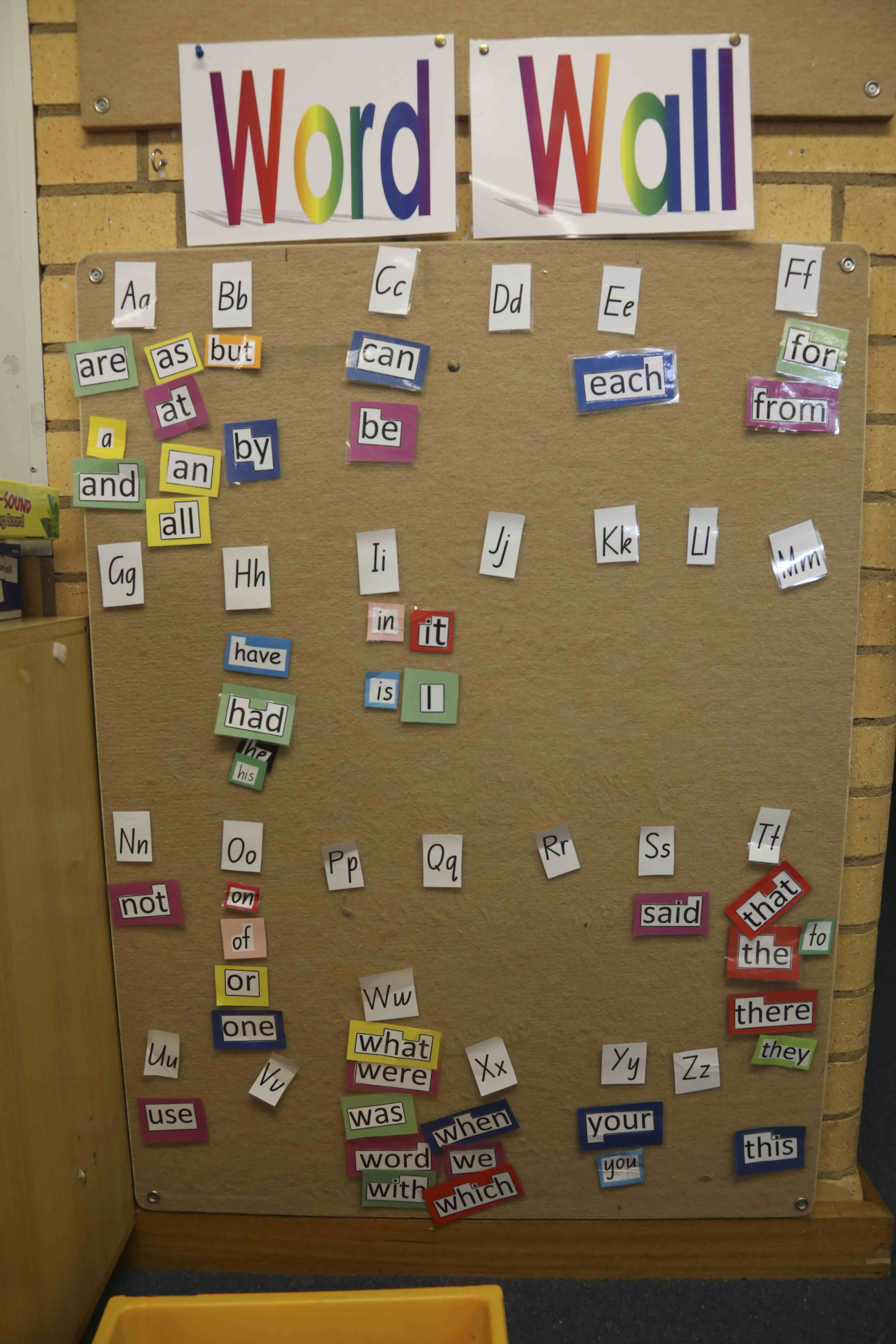 working with letters  sounds and words in our classrooms