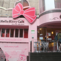 Seoul Day 3: Hello Kitty Cafe at Hongdae