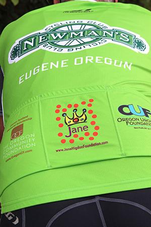 Jane Higdon Foundation jersey