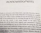 acknowledgements 1