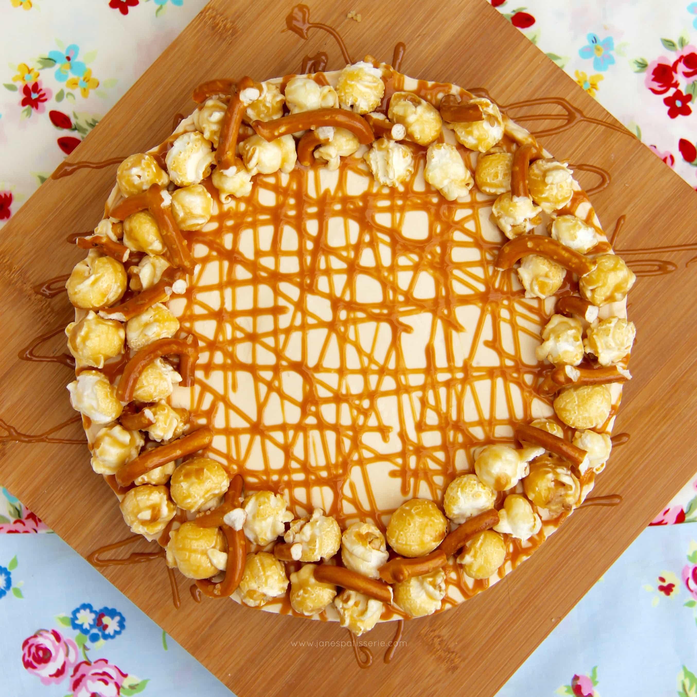 Creamy Vanilla-Caramel Cheesecake Recipe — Dishmaps