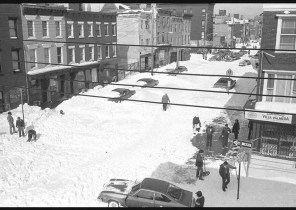 Van Brunt Street, After the Blizzard, 1982