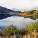 Jackson Lake (with Grand Tetons), WY