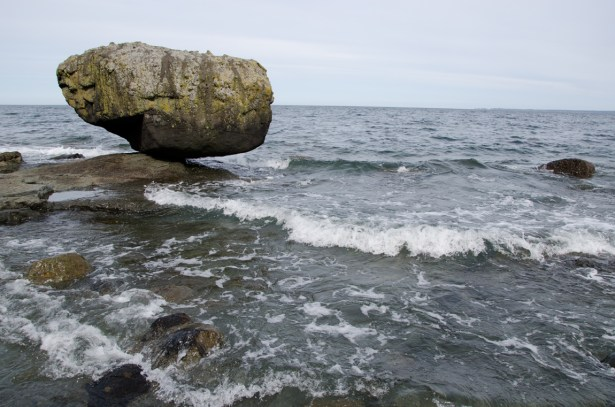 Balance Rock, Haida Gwaii - High Tide