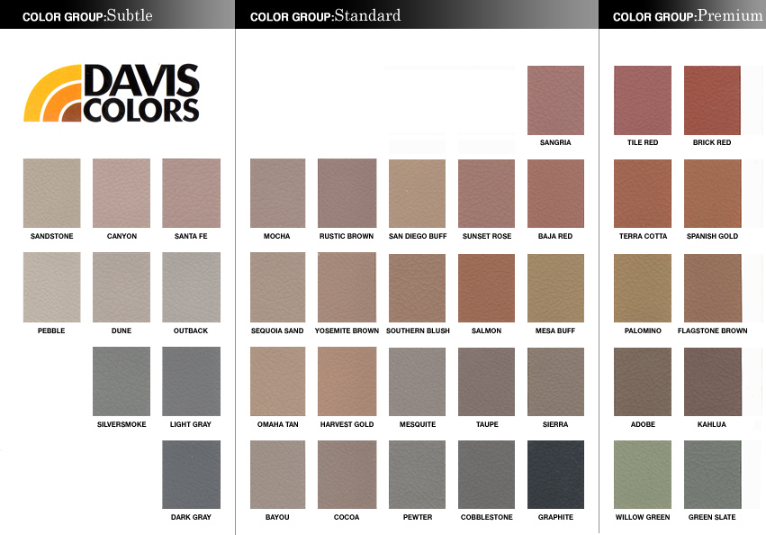 wwwjanjconcrete images davis-colorsjpg Iu0027m in the - Design Of Retaining Walls Examples