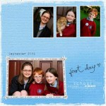 ALL back to school – a photo collage
