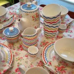 Very pretty ric rac patterned china in Cath Kidston in Belfast today
