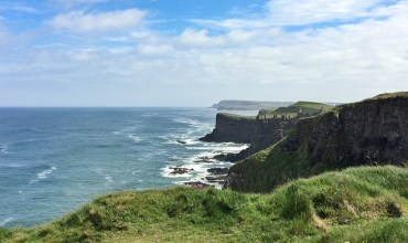 Beautiful morning for some more geocaching on the Causeway coast