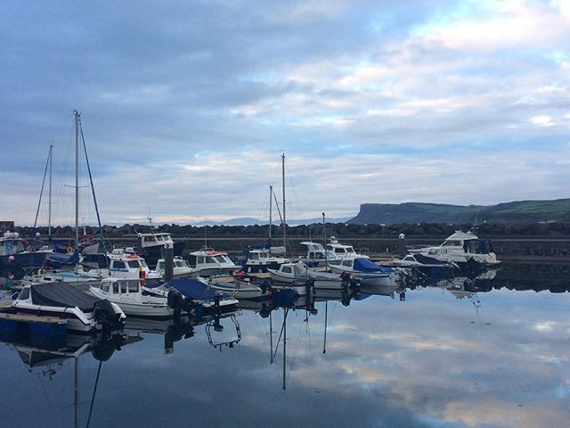 Reflections in Ballycastle