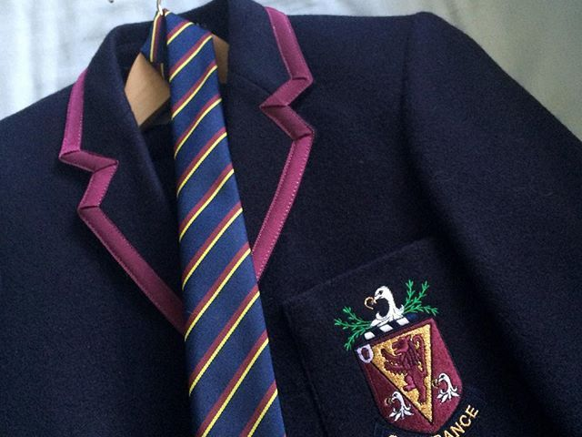 Great GCSE results for my daughter – ready for her 6th form uniform!