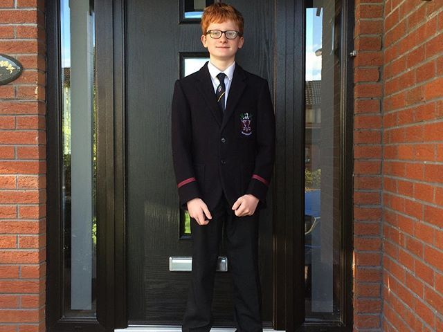 Back to school …. first day at Wallace