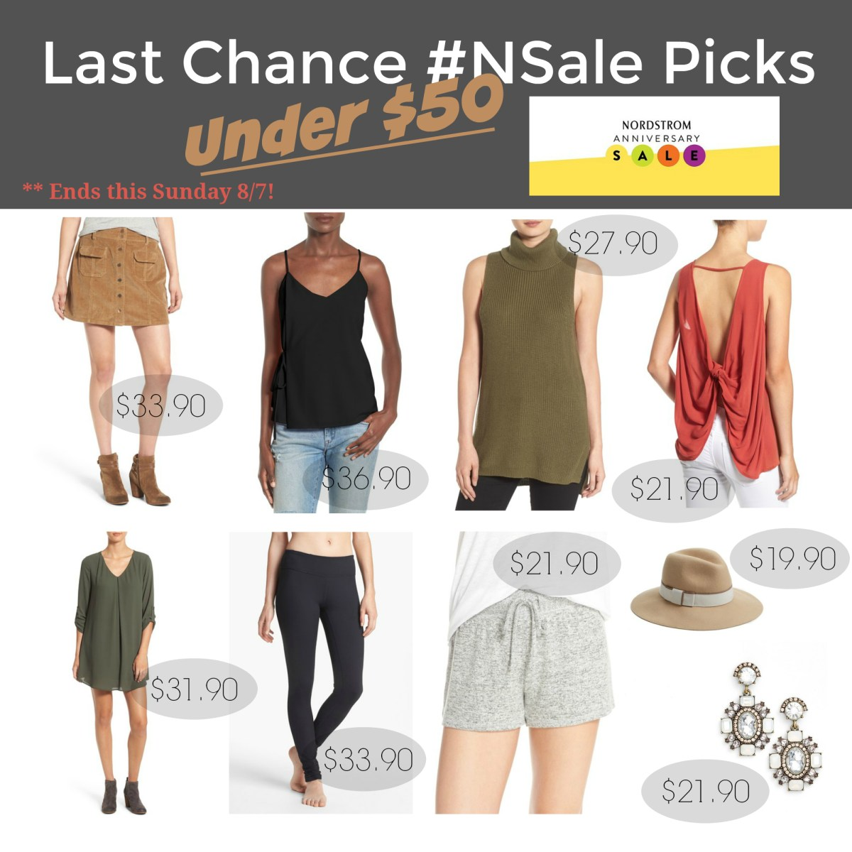 Last Chance #NSale Picks Under $50