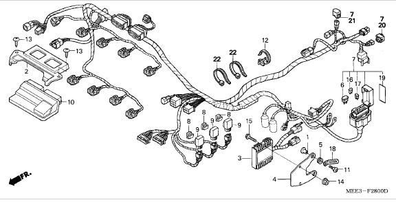 honda cr250r schematic diagram