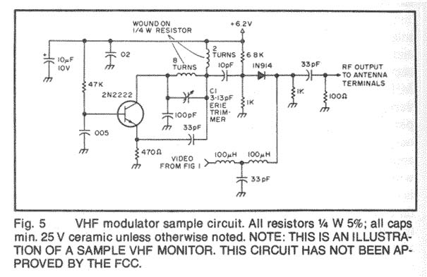 VHF (Very High Frequency) Electronic Circuits