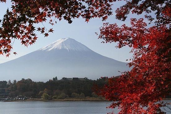autumn color report 2009 fuji five lakes