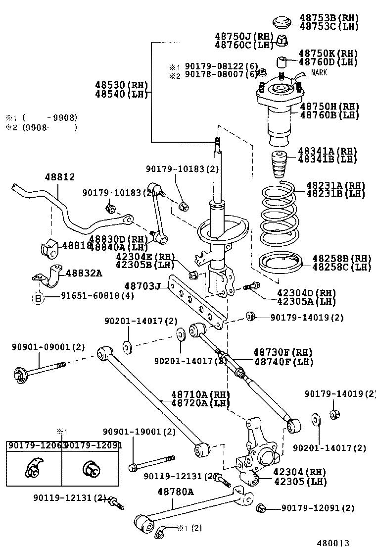 camry parts diagram