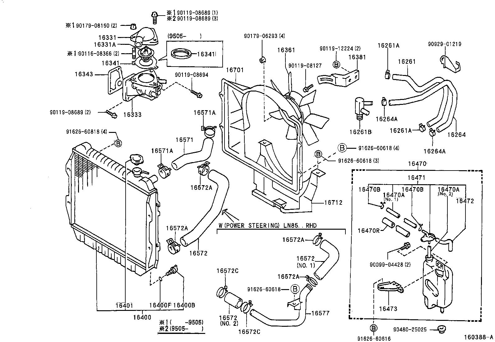 85 toyota tercel engine diagram