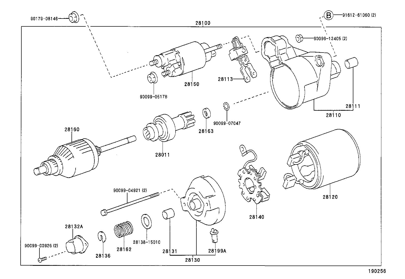 1994 toyota tercel starter wiring