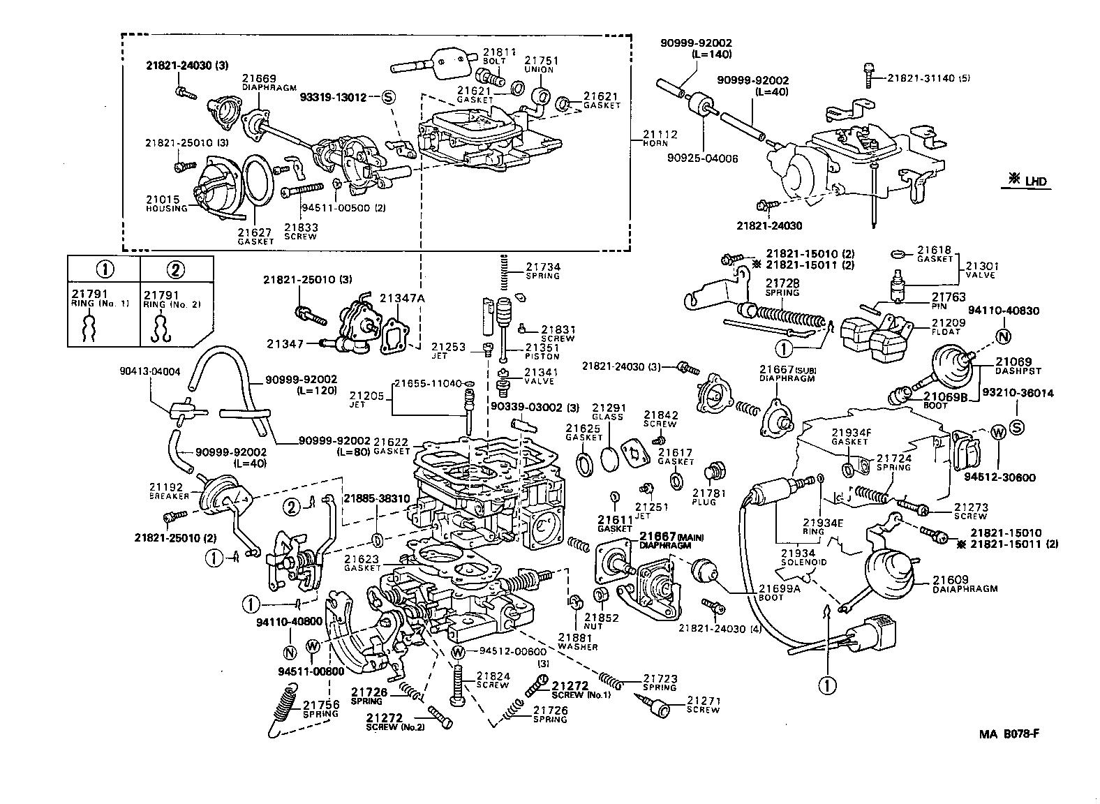 toyota 22r ledningsdiagram