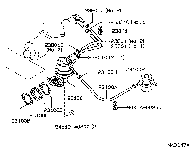 1976 toyota celica engine