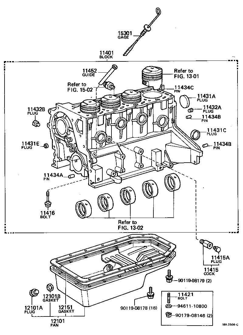 toyota 2t engine diagram