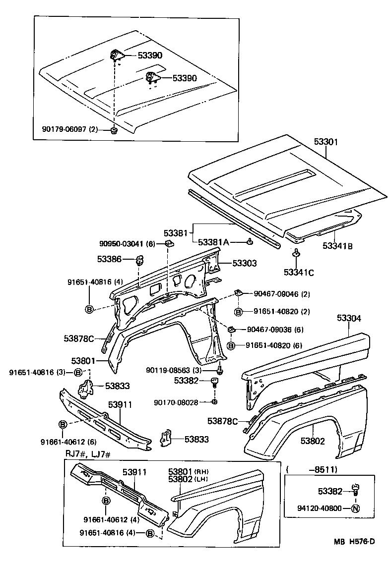 1989 toyota cressida fenders