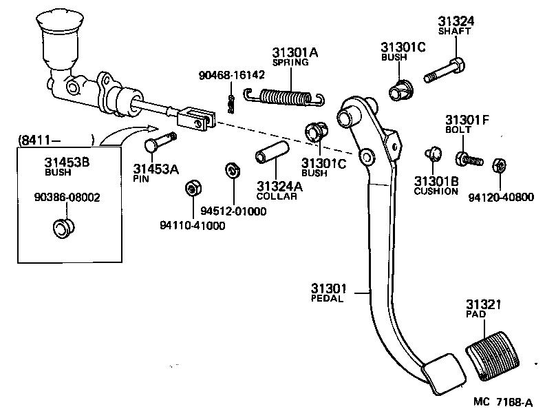 1972 toyota land cruiser clutch