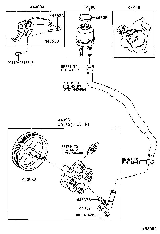 vane pump reservoir power steering