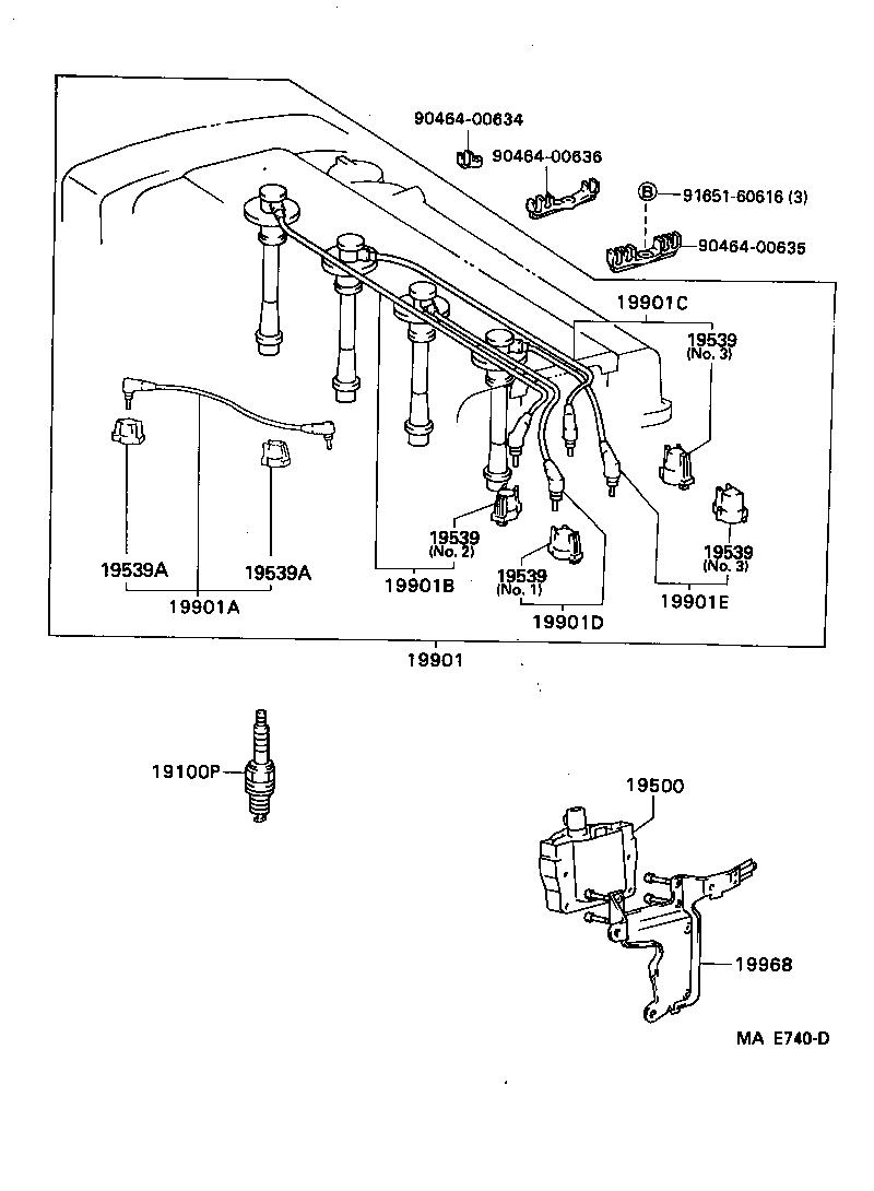 secondary ignition wiring diagram pickup