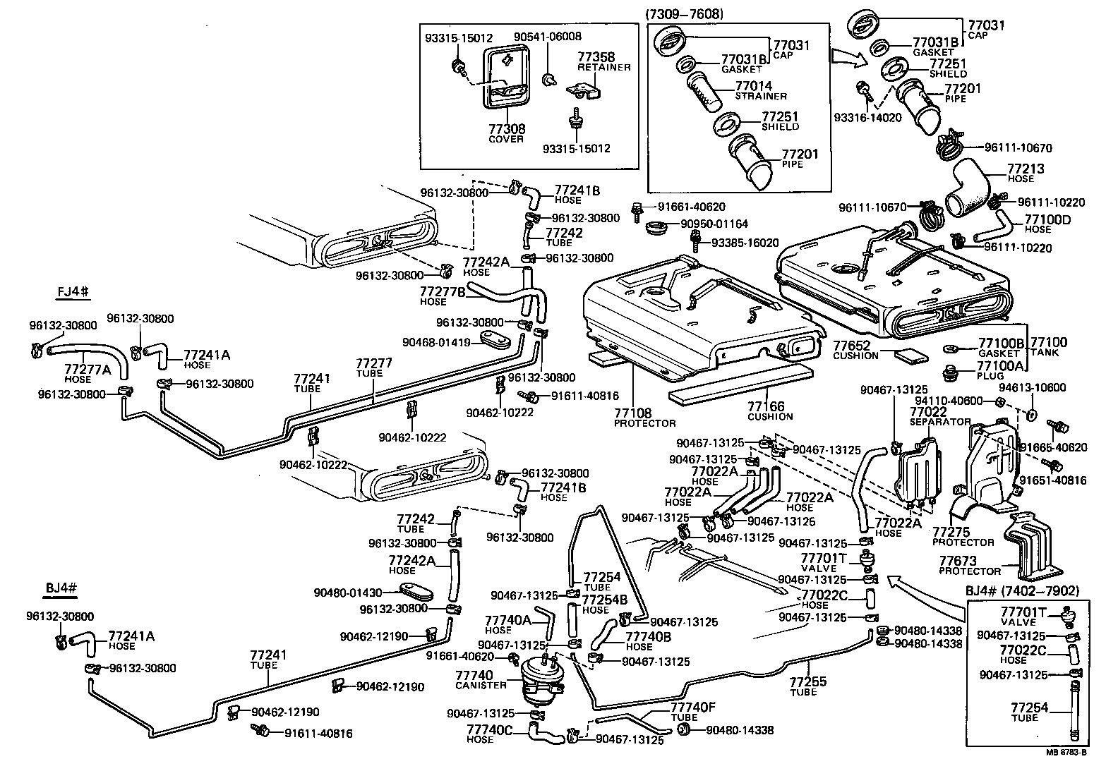 1973 toyota land cruiser fuel tank