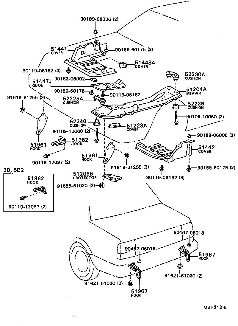 toyota ae80 engine diagram