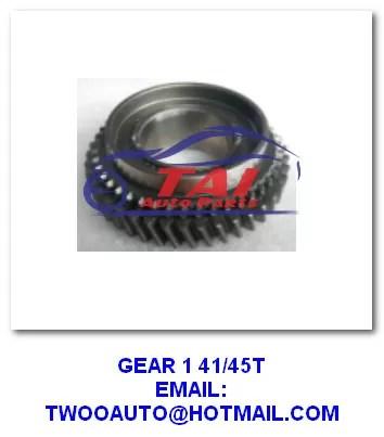 Isuzu Gear Manual Transmission Parts 1 41/45t 4ja1 Pickup Panther