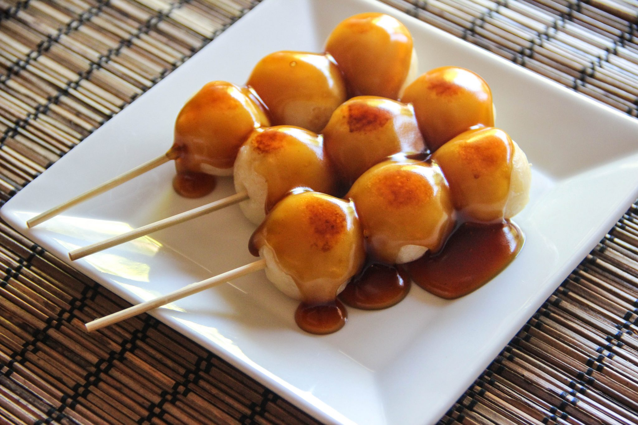 Famous Anime Wallpaper Mitarashi Dango Recipe Japanese Cooking 101
